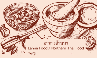 란나 음식 | Northern Thai Food CMU014-KR